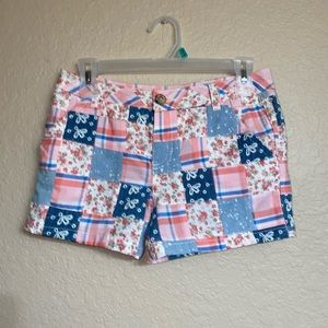 Justice Adorable Patch Shorts-- Size 14